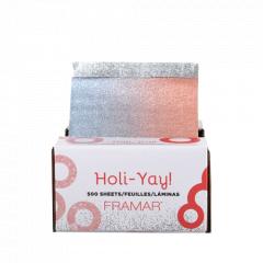 Framar PU-500HOL19 Holi-Yay Pop-Up Foil - predrezaný ťahací alobal, 500 ks - limitovaná vianočná edícia