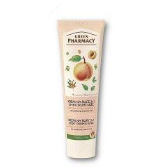 Green Pharmacy - krém na ruky efekt druhej kože 3v1, 100 ml