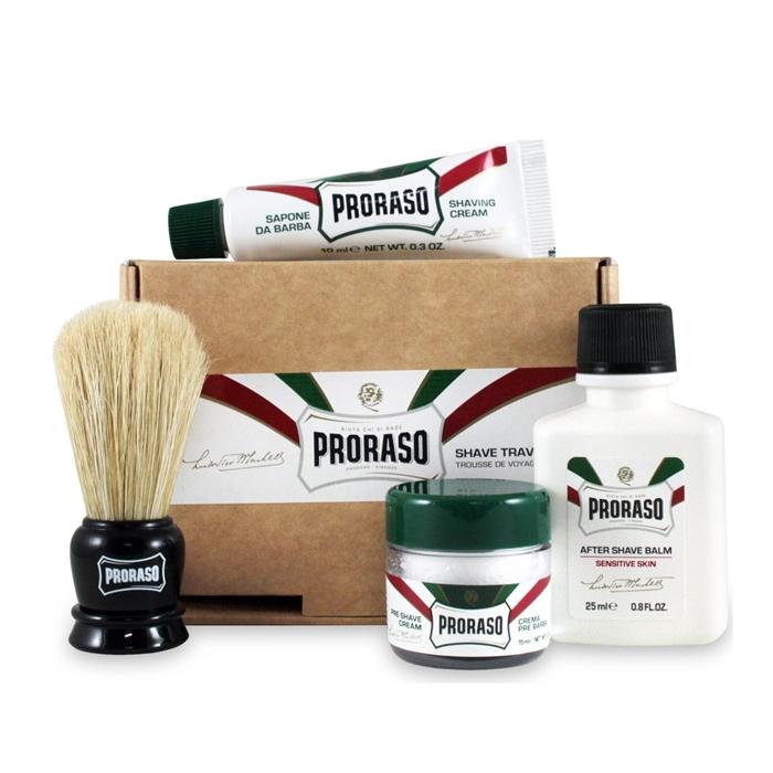 Proraso Travel Shaving Kit - cestovní sada na holení