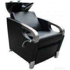Kadernícky umývací box ATLAS matná čierna