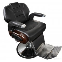 Barber kreslo DEGAS matná čierna