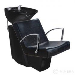 Kadeřnický mycí box SOUL lesklá černá