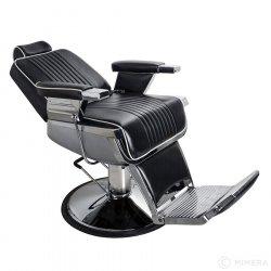 Barber křeslo GRECO matná černá