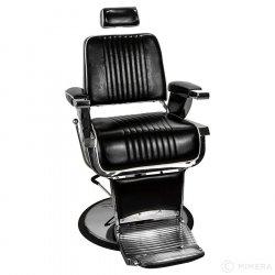Barber křeslo GRECO lesklá černá
