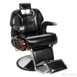 Barber křeslo DEGAS lesklá černá