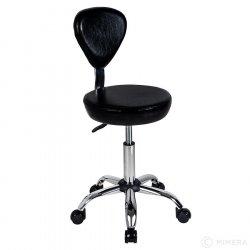 Kadeřnická stolička FINN matná černá