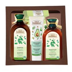Green Pharmacy Žihľava a olej z koreňov lopúcha - balíček pre normálne vlasy
