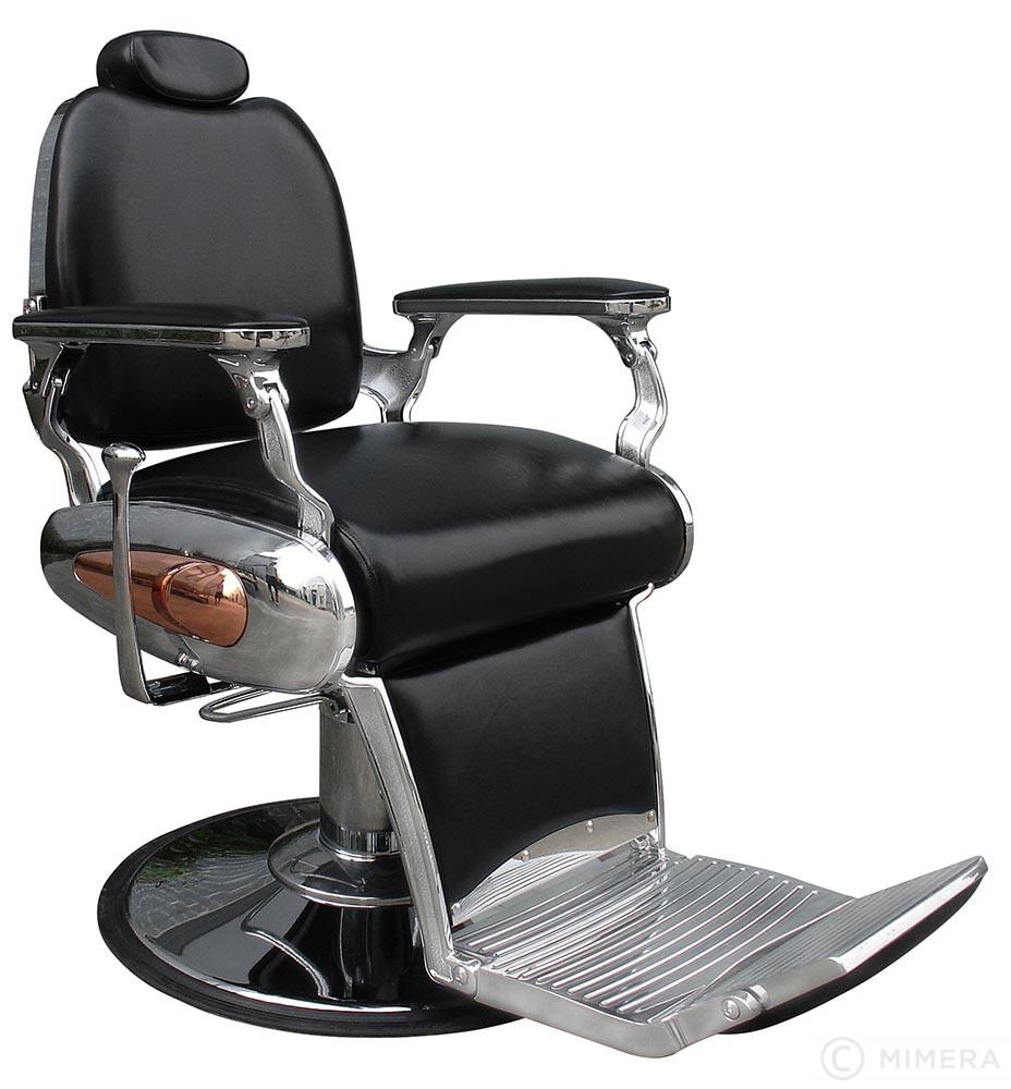 Barber křeslo DALI matná černá +  Ragnar Galaxy - stříhací strojek a Ragnar Cosmic - konturovací strojek
