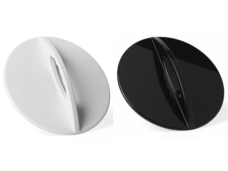 Control mirror - stylingové zrcadlo, průměr 29 cm