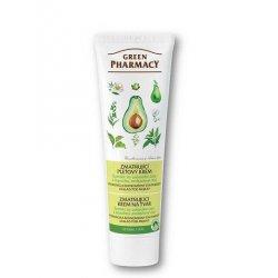 Green Pharmacy - zmatňující krém na obličej s extraktem ze zeleného čaje, lopuchu a avokáda, 100 ml