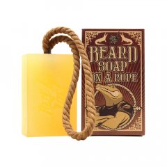 Hey Joe! Beard soap on a rope - šampón na bradu so šnúrkou na zavesenie, 150ml