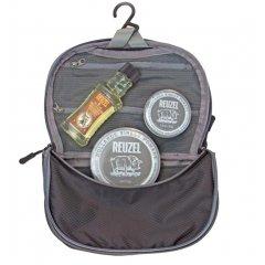 Reuzel Pigs Can Fly Dopp Bag Extreme - sada pomáda, 113 g + pomáda, 35 g + Daily šampon, 100 ml + taštička