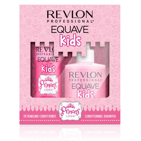 Revlon Equave Princess set - 2-fázový kondicionér, 200 ml + šampón, 300 ml