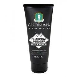 Clubman Charocal Black Mask 7865 - černá pleťová maska s uhlím, 90 ml