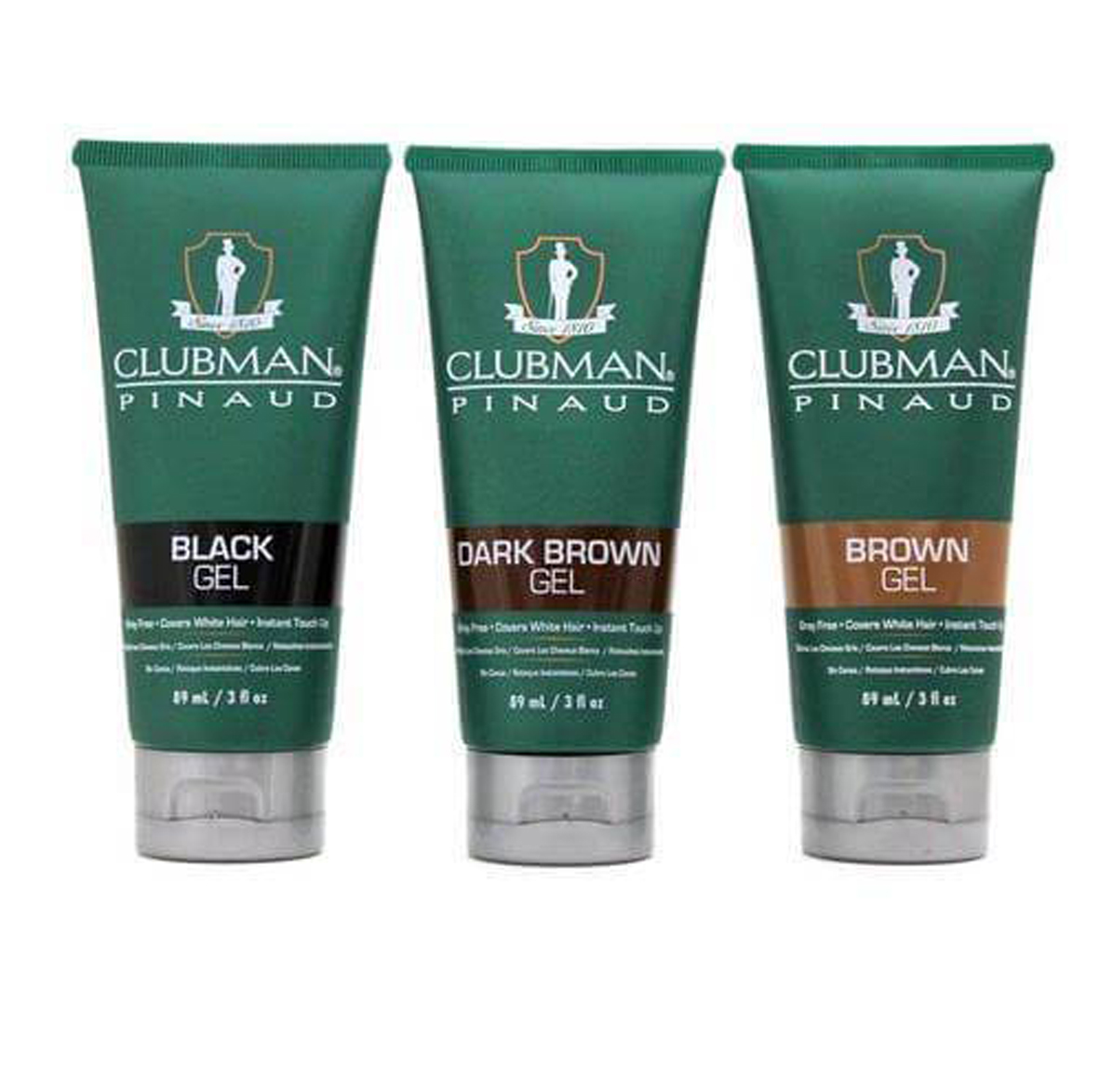 Clubman Color Gel - barvící gel, 89 ml