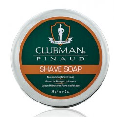 Clubman Shave Soap 0050 - holiace mydlo, 59 g