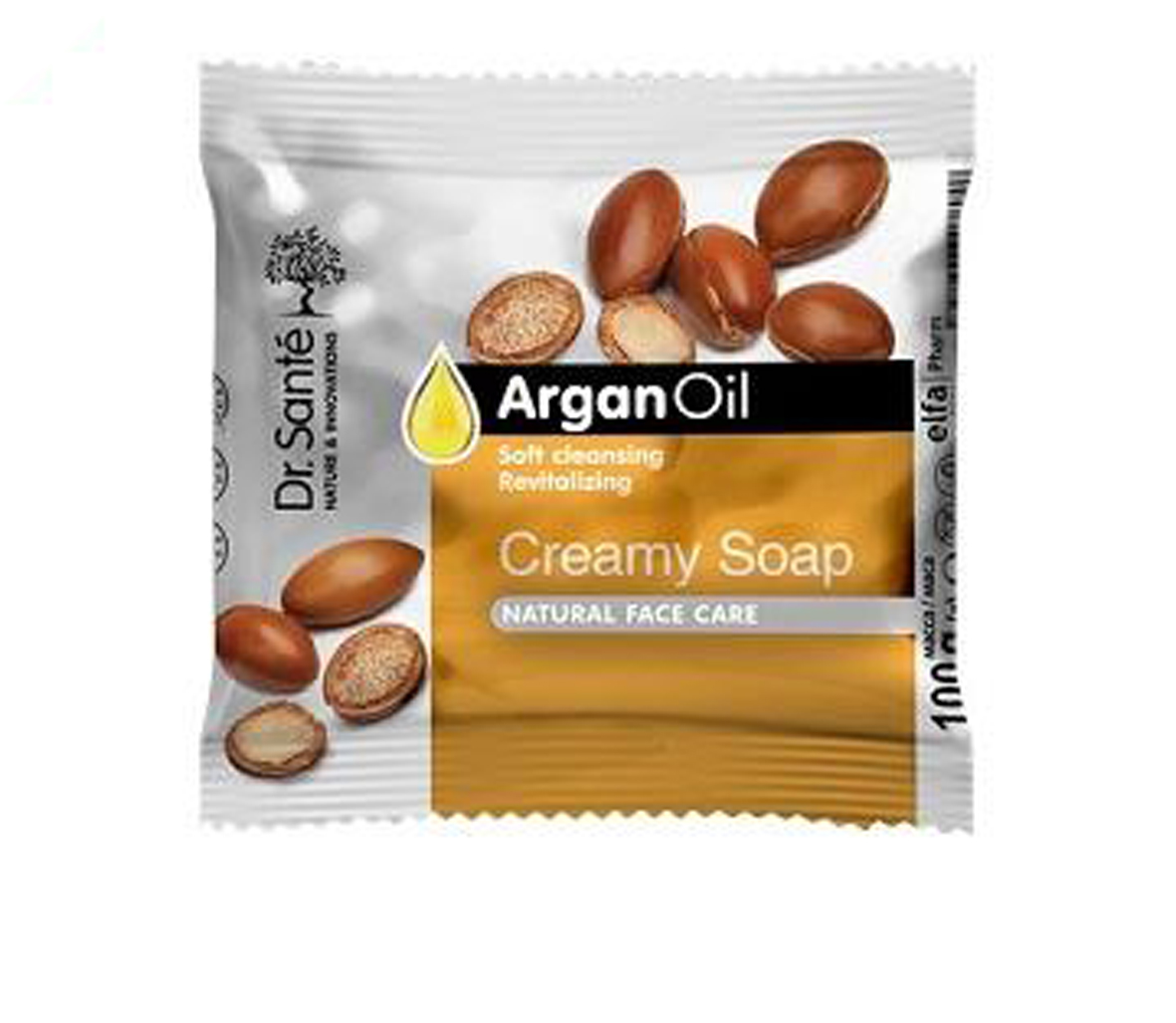 Dr. Santé argánový olej - krémové mydlo, 100 g