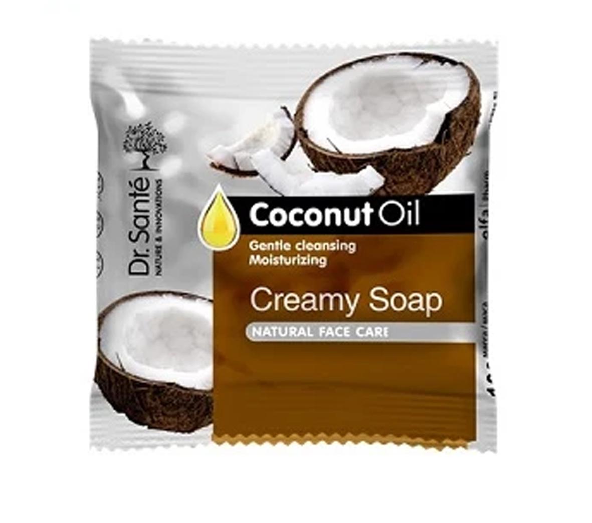 Dr. Santé kokosový olej - krémové mýdlo, 100 g