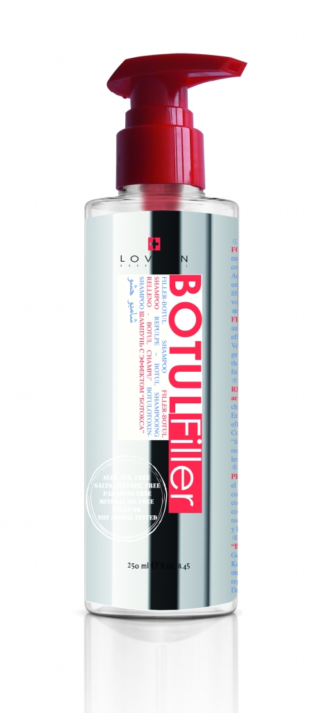 Lovien Botul Filler Shampoo - šampon s přírodními složkami, 250 ml