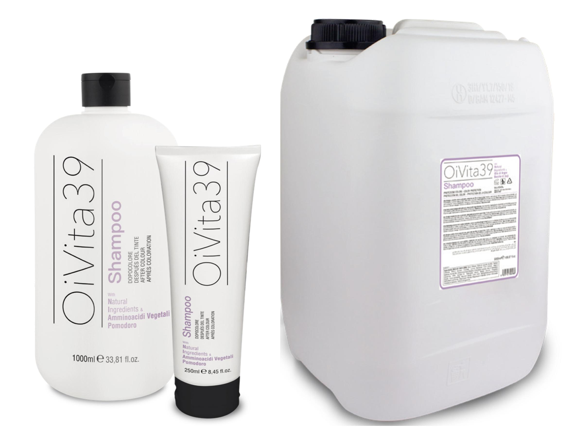 OiVita39 New Color protect shampoo - šampón na farbené vlasy
