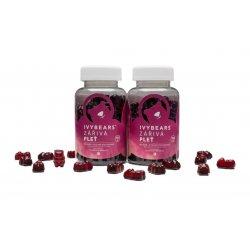 AKCE: 2x IVY Bears - zářivá pleť - vitamíny, 150 g