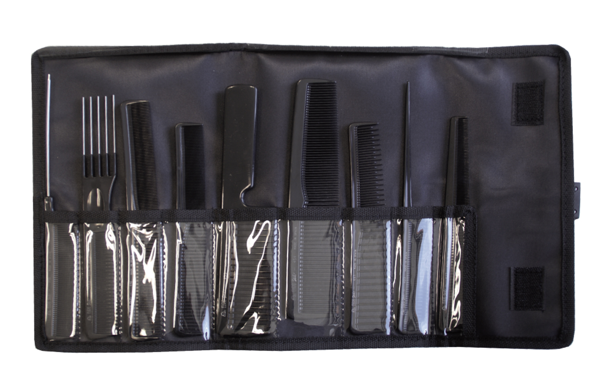 Eurostil Set 9 Combs professional 03928 - sada hřebenů