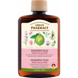 Green Pharmacy - masážny olej proti celulitíde, 200 ml