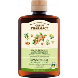 Green Pharmacy - spevňujúci telový masážny olej, 200 ml