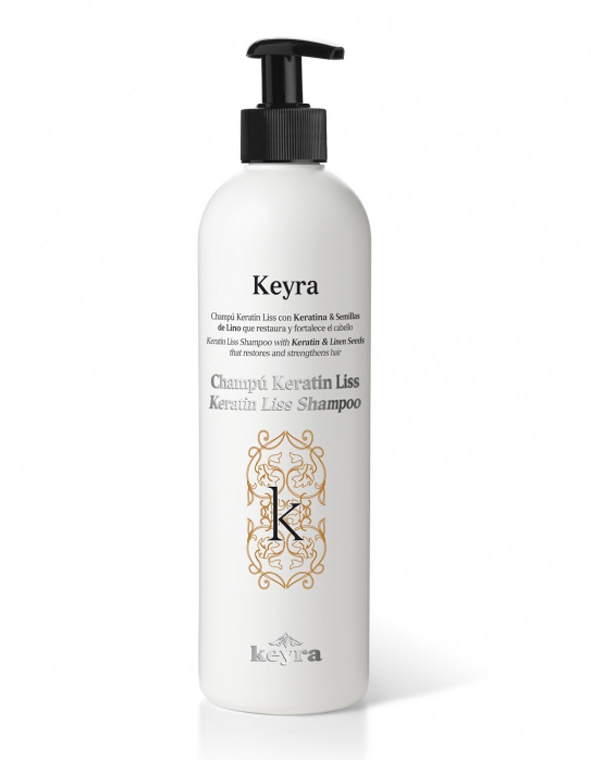 Keyra Keratin Liss Shampoo - regenerační šampon, 500 ml