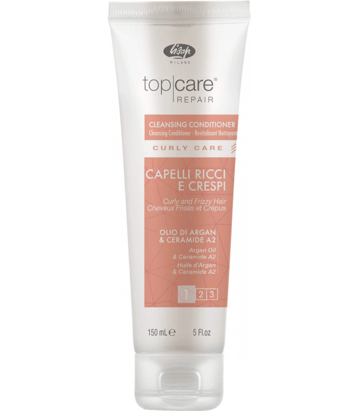 Lisap Top Care Curly Care Cowash- kondicionér na kučeravé vlasy, 150 ml