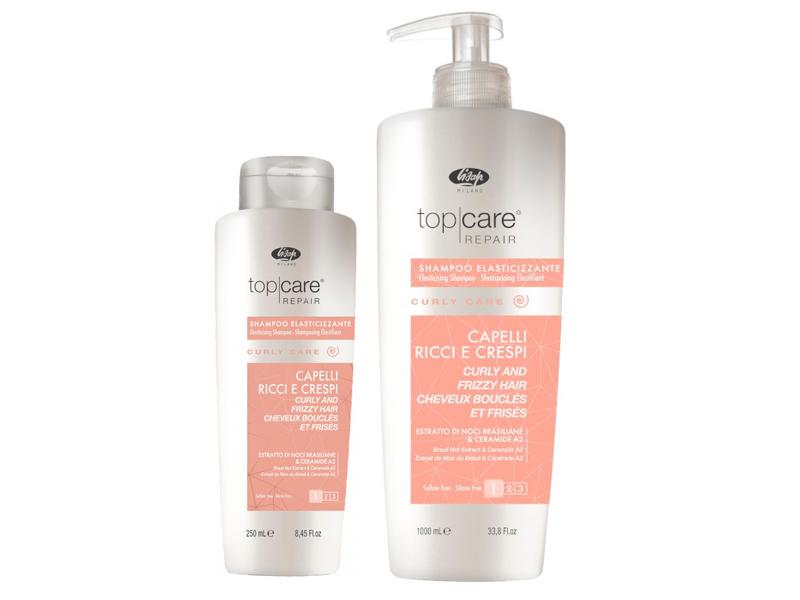 Lisap Top Care Curly Care Shampoo - šampon na kudrnaté vlasy