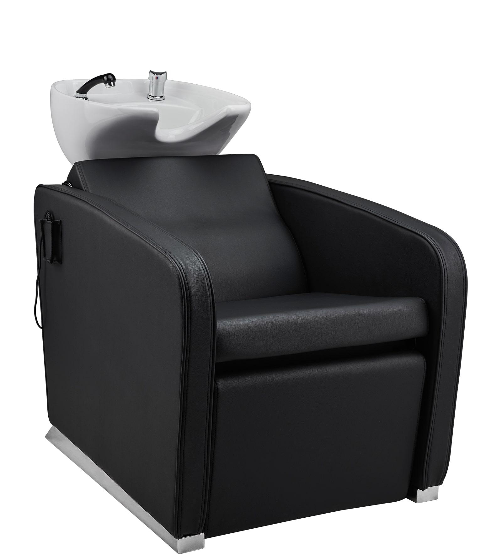 Super Salon Aston - kadernícky umývací box s elektricky ovládanou opierkou na nohy + Ragnar Galaxy - strihací strojček