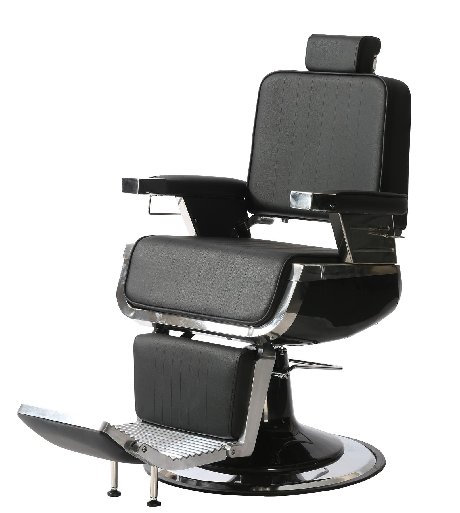 Super Salon - barber kreslo Dark + Ragnar Supernova - strihací strojček a  Ragnar Cosmic - kontúrovací strojček