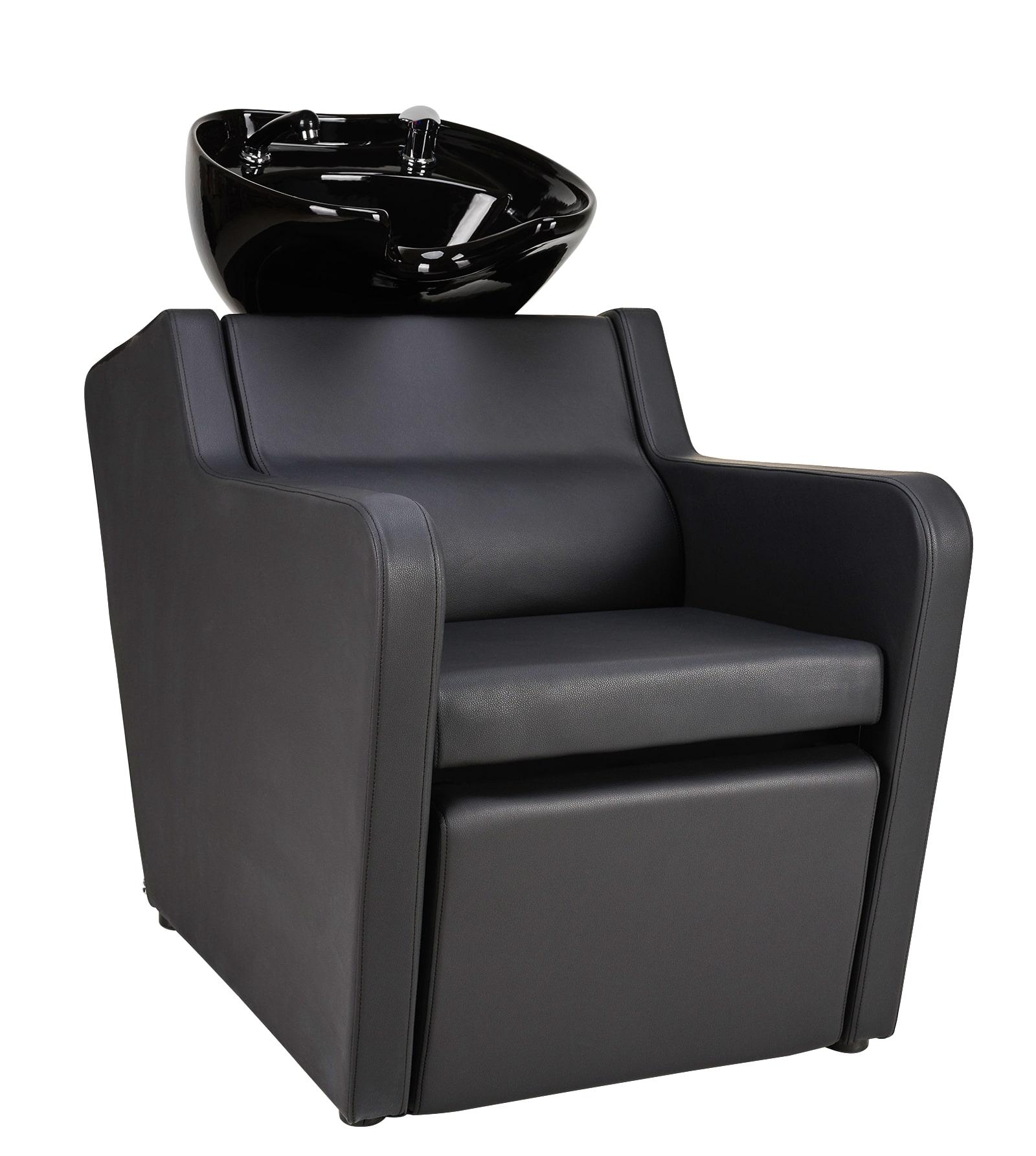 Super Salon Perfect - kadernícky umývací box s elektricky ovládanou opierkou na nohy