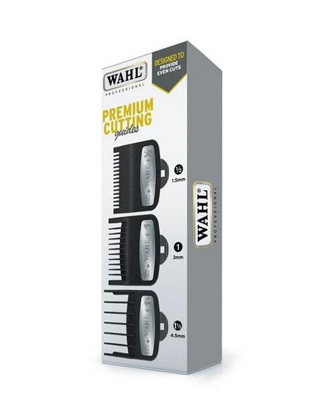 Wahl Premium Cutting 03354-5001- hrebeňové nádstavce 1,5 mm, 3 mm, 4,5 mm