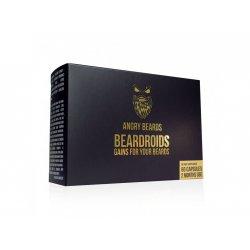 Angry Beards Beardroids - vitamíny na růst brady, 60 ks