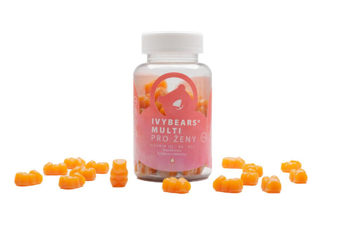 (EXP: 04/2021) IVY Bears Multi pre ženy - vitamíny, 150 g