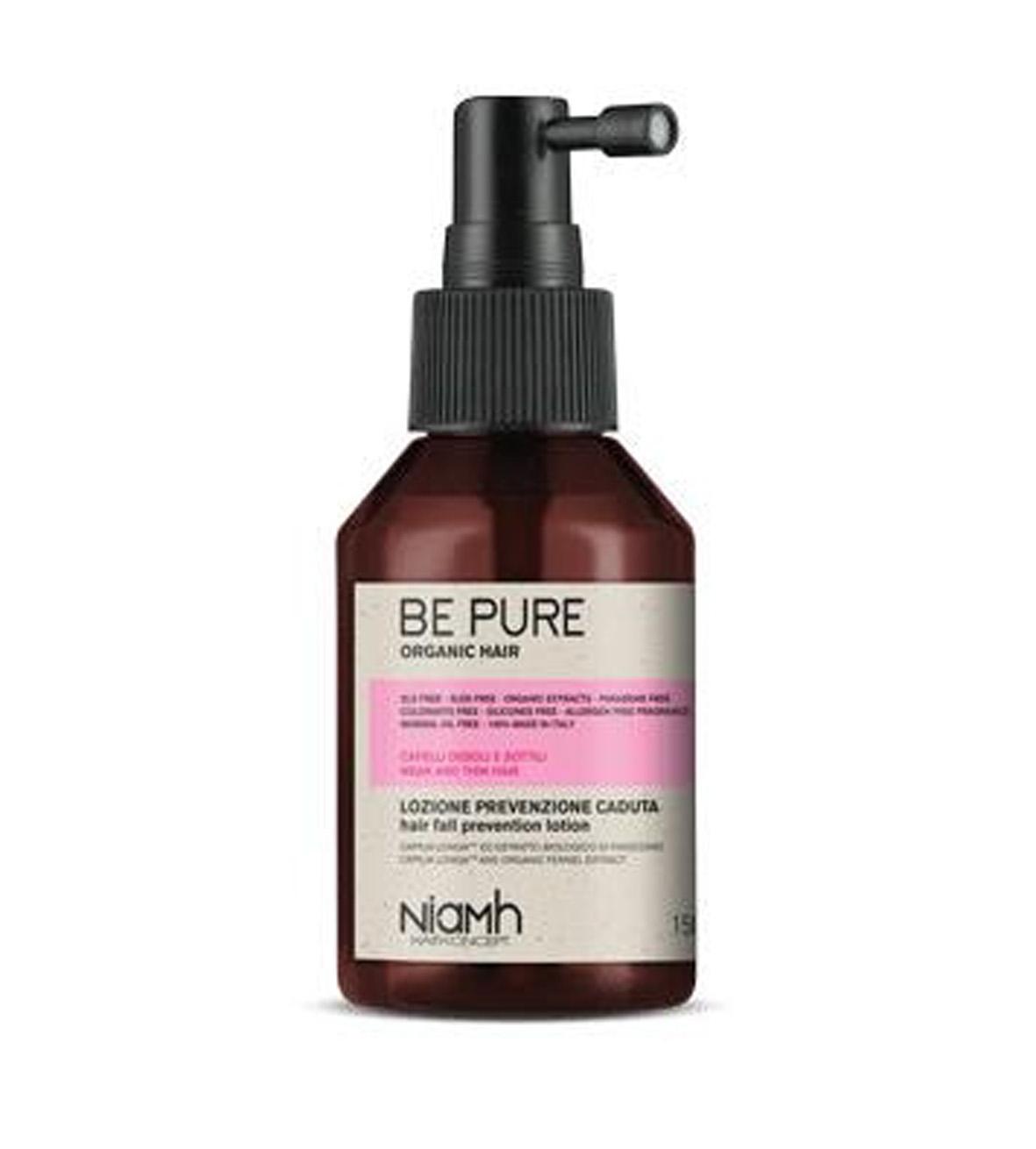 Niamh Hairkoncept Be Pure Prevent Hair Loss Lotion - tonikum proti vypadávání vlasů, 150 ml