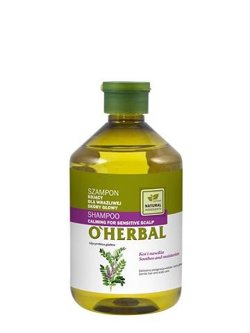 O'Herbal Calming for Sensitive Scalp - zklidňující šampon, 500 ml