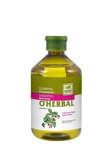 O'Herbal Smoothing - šampon pro zářivý lesk, 500 ml