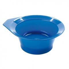 Eurostil Bowl w/rates non-skid 00647/50 - protišmyková miska na farbenie,čierna
