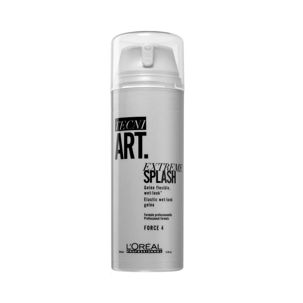 L'Oréal Professionnel Tecni Art Extreme Splash Gel - gél pre efekt mokrých vlasov, 150 ml