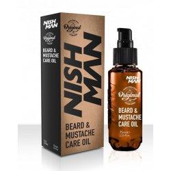 Nishman Beard and Moustache Care Oil - olej na bradu, 75 ml