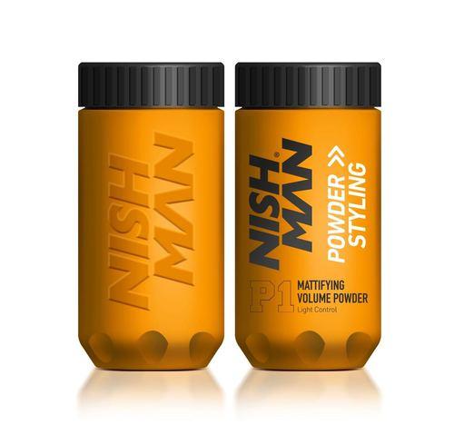 Nishman Hair Powder Hairstyling - pánsky púder na objem, 20 g