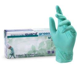 SEMPERGUARD GREEN NITRILE - nitrilové rukavice bezpúdrové, 200 ks/bal