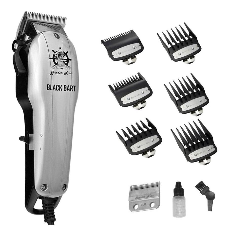 BarberLine 06333 BART BLACK - síťový stříhací strojek na stříhání vlasů