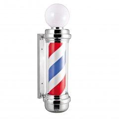 Eurostil Sphere Chrome Barber Pole 04744 - svetelný barber stĺpik
