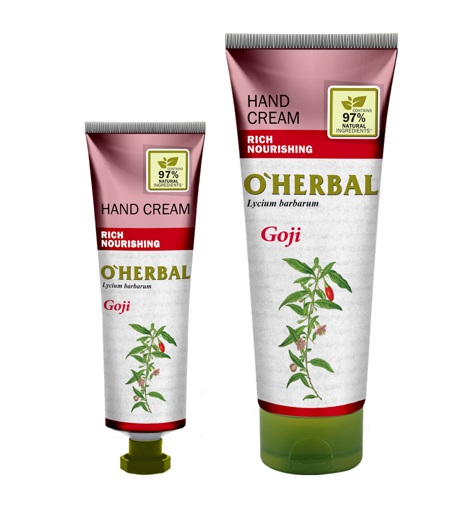 O`Herbal Goji - krém na ruky goji