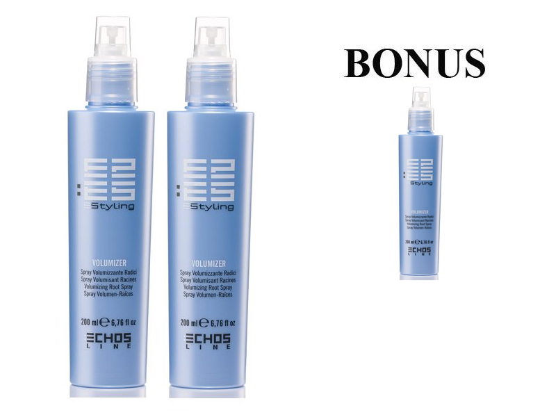 AKCIA: 2+1 Echosline Volumizer spray - sprej pre objem vlasov, 200 ml