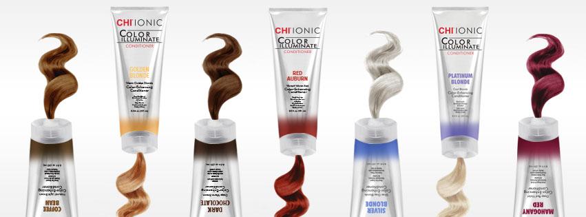 CHI Color Illuminate - farebný kondicionér na oživenie farby vlasov